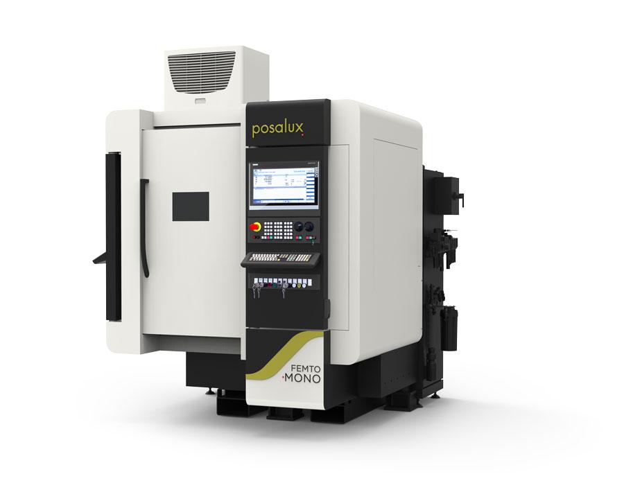 Sketch of a Posalux FEMTO Laser Mono XY machine